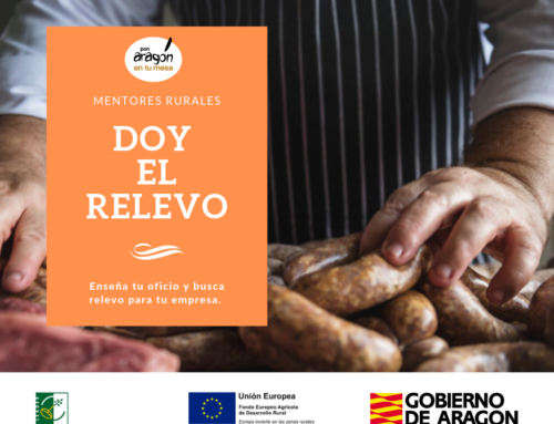 Pon Aragón en tu mesa impulsa una red de mentores agroalimentarios de los pueblos de Aragón